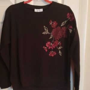 Jessica Simpson sweater floral print